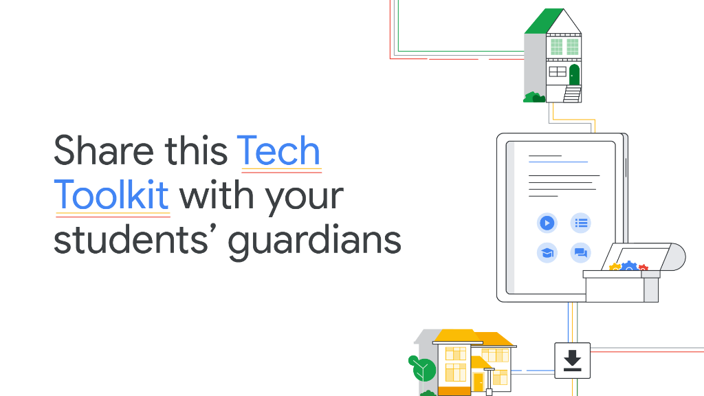Hey educators—the Tech Toolkit for Families and Guardians is here! It contains resources to help guardians better understand their students learning technology, including #GoogleClassroom and #GoogleMeet. Learn more: https://t.co/kZqVMSBJ3a https://t.co/OrZ4HRyk6p