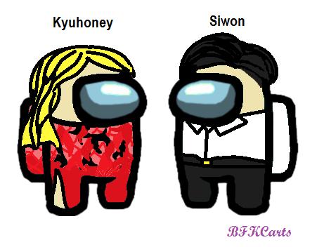 Kyuhoney and Siwon #amongus #wonkyu #siwon #kyuhyun #smtown2014 #mspaint #bfkcarts #bfkcedits https://t.co/0YflyuuG94