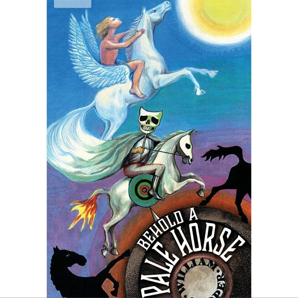 'Behold a Pale Horse' by William Cooper 🐉🚻🐉 #untoldnewsuk #ufo #aliens #spaceforce   #ufology #ufosightings #ufos #ufofiles #ancientaliens #reptilians #reptilianshapeshifters #reptiliansarereal #urth #earth #mufon #naga #nazca  #nagachaitanya #12thplanet #mothman https://t.co/bPlniXj1S5