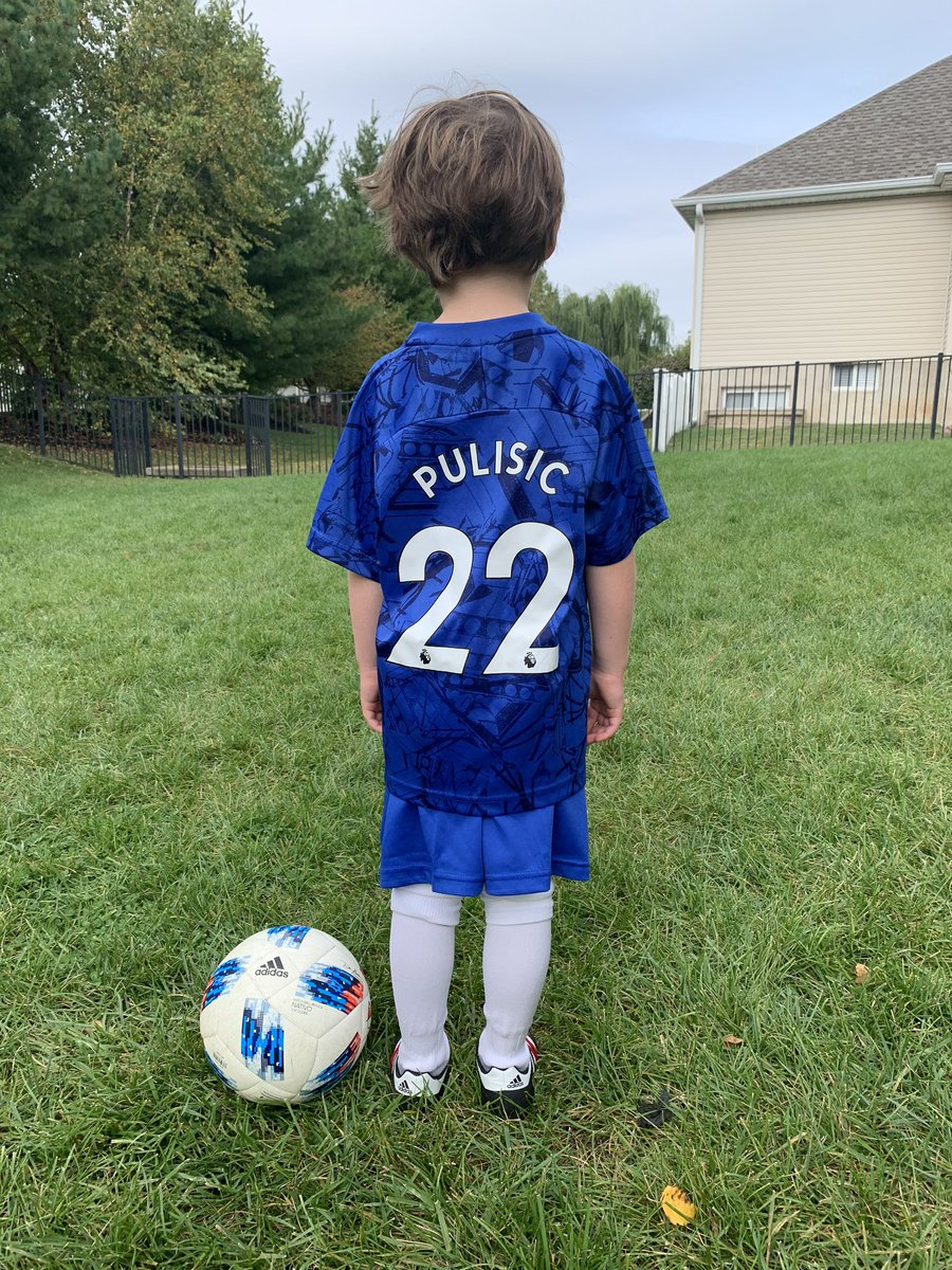 @ChelseaFC @KelleyPulisic @KelleyPulisic #Samiam #SoccerSunday #footy ⚽️ 🥅 https://t.co/TrXJhR8NZX
