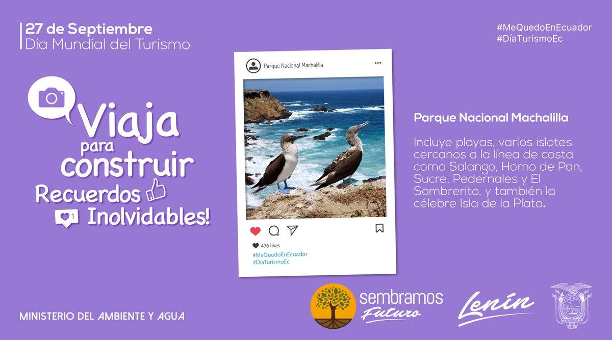 #DíaTurismoEc | Visita nuestras áreas protegidas, varios de estos espacios naturales están reabiertos a escala nacional.  Conoce cuáles → https://t.co/rDYtLNheLi  #MeQuedoEnEcuador https://t.co/UoFE35TtFv