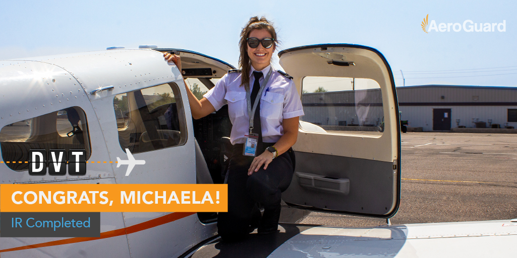 Put your hands together for Pathway Student Michaela Shackelford, who successfully earned her Instrument Rating! Keep it up, Michaela! ✈  #Aviation #AviationLovers #AviationPhotography #Pilot #PilotTraining #Planes #Airplane #FlightSchool https://t.co/oPKbPcl0JL