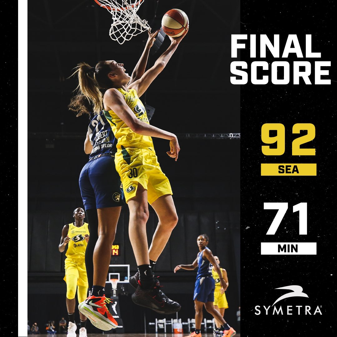 For the fourth time in franchise history the Seattle Storm are headed to the @WNBA Finals!!   #StrongerThanEver https://t.co/xr4LFZix5t