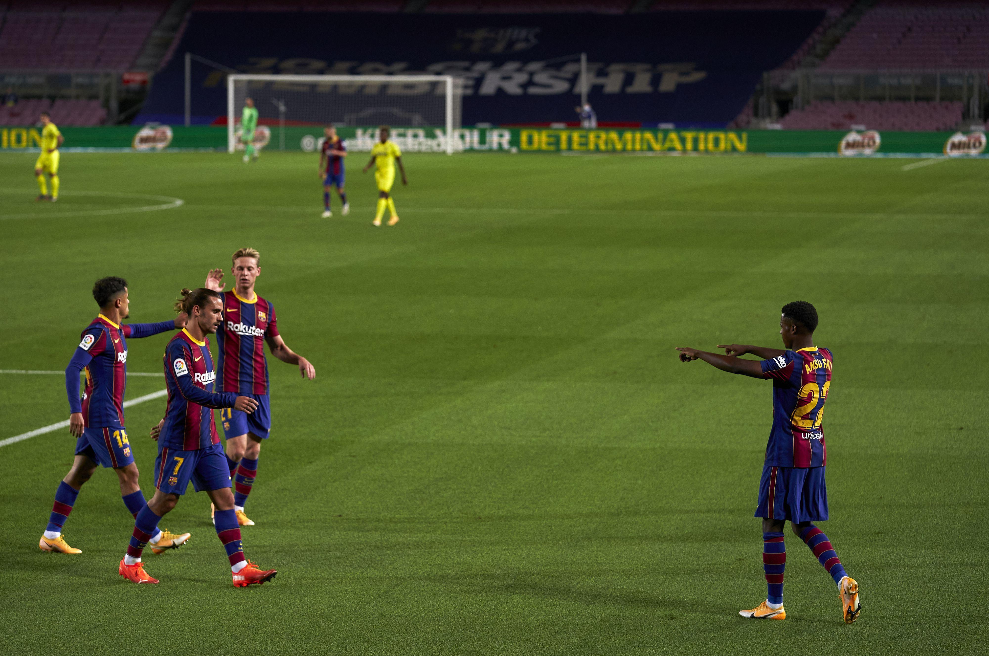 Fati vs Villarreal