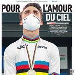 Image for the Tweet beginning: La une du journal L'Équipe