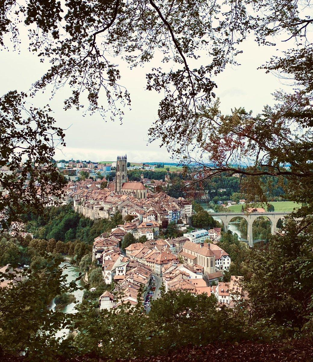 🇨🇭Ville de #Fribourg.  🇩🇪 Stadt #Freiburg.     🇬🇧 City of Fribourg. https://t.co/6JR73EB4hw