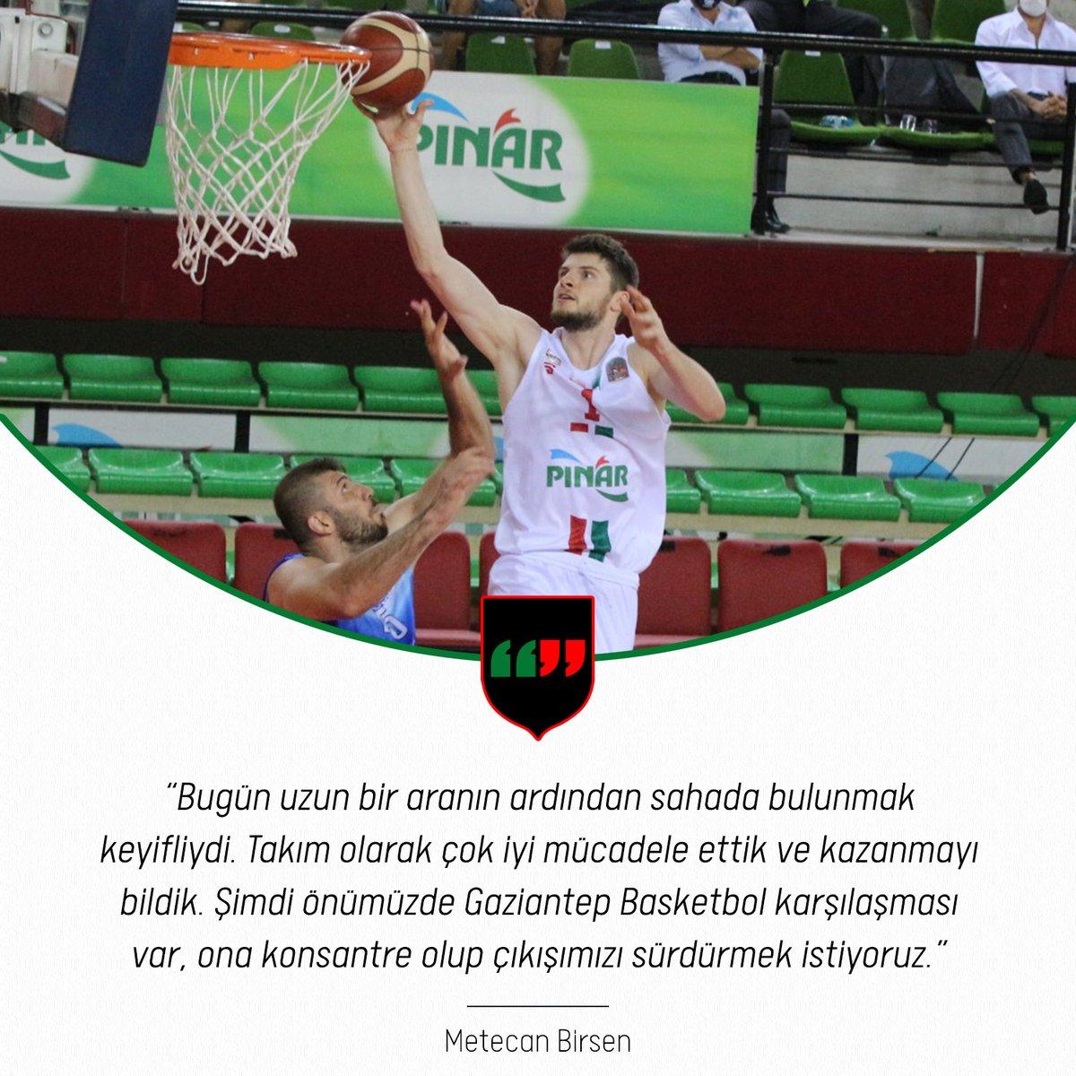 🎙 Oyuncumuz Metecan Birsen, Lokman Hekim Fethiye Belediye Spor karşılaşmasının ardından açıklamalarda bulundu. 👇   🔗 https://t.co/78aEGjg5AT https://t.co/VIokZcb4wL