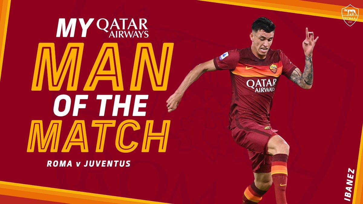 🔁 Retweet if Roger Ibanez was your #ASRoma @qatarairways Man of the Match against Juventus
