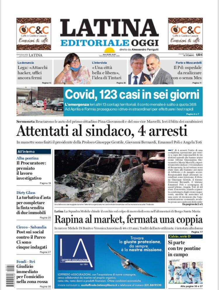 Oggi su LATINA OGGI #Slim  #Fusina #Cisterna @UilmNazionale @uilmlatina #Uilm #Venezia https://t.co/K75fTbnbDq