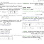 Image for the Tweet beginning: #Probability and #Statistics Cheatsheets for
