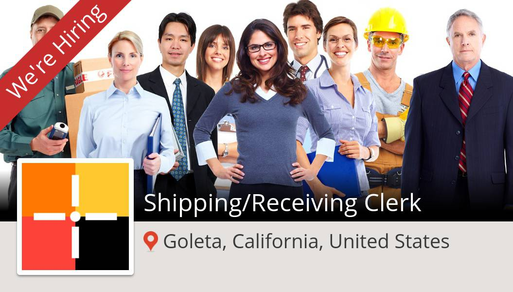 Apply now to work for #Spherion as Shipping/#Receiving #Clerk in #Goleta! #job https://t.co/HnjzDs8Z3h https://t.co/vgh4sti21F