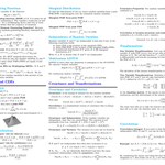Image for the Tweet beginning: A Comprehensive 10-Page Probability Cheat