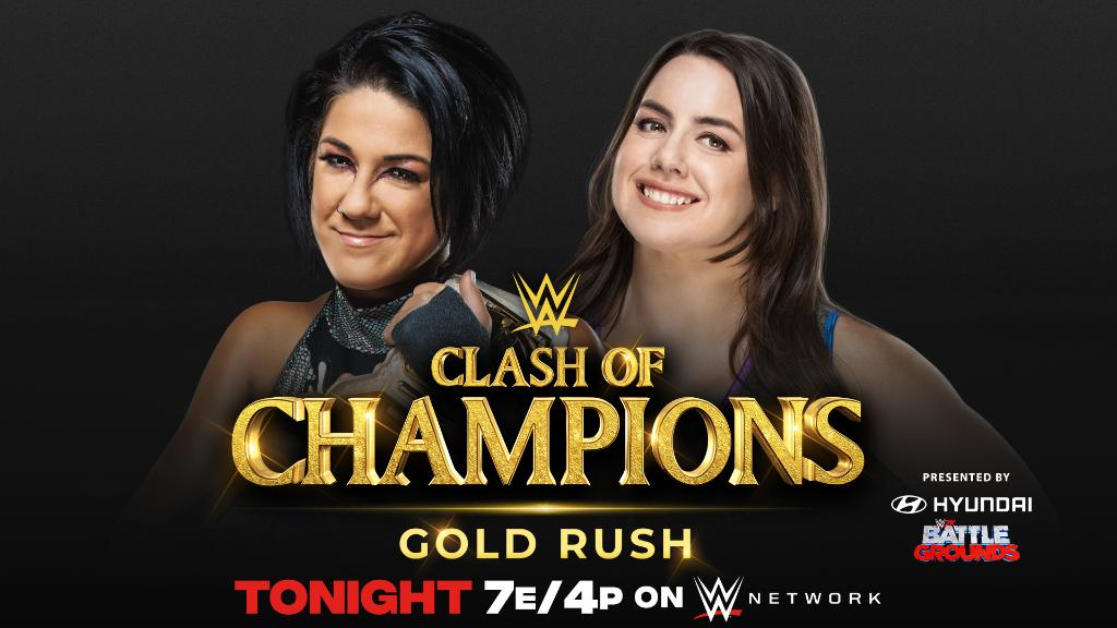Another Clash of Champions Match in Jeopardy, Update on Bayley vs. Nikki Cross, More