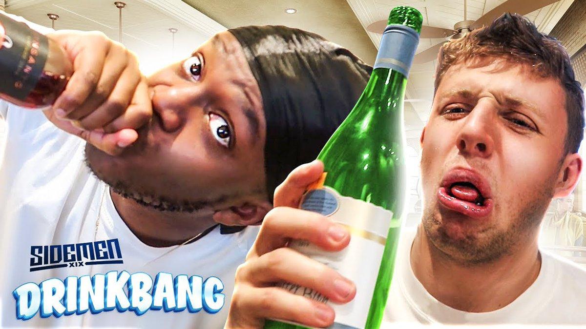 New #SidemenSunday video out now! SIDEMEN DRINKING MUKBANG youtu.be/YOy7g9qEVZk