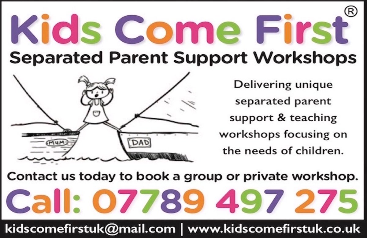 @bmillsbarrister Whether recently #separated #parents seeking #support or still having difficulties years beyond #divorce @KidscomefirstUK we focus on what yr #family needs with our practical #bespoke guidance. Discover better #coparenting when your #kids need you most!  kidscomefirstuk@mail.com https://t.co/mKcJd8KyMS