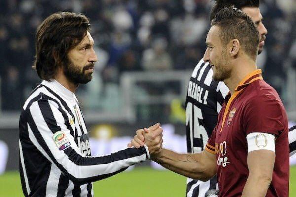 Juventus vs Roma 🤝 https://t.co/u6AT1yI2x6