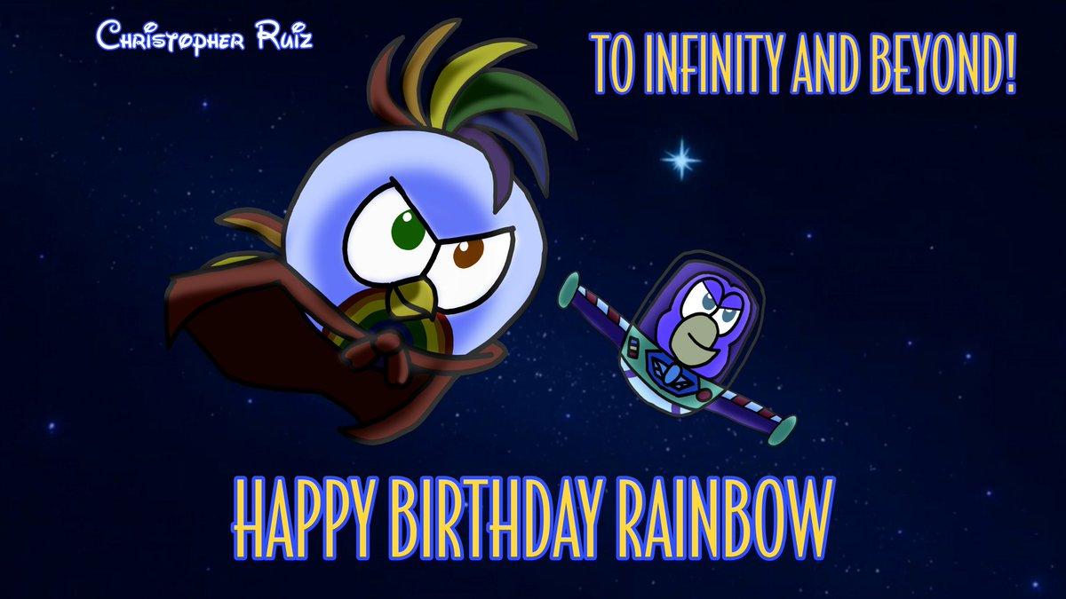 """To Infinity and beyond!"" Happy Birthday Rainbow! #TheHatchlingsofColorfulIsland #TiffanyAdventuresOnColorfulIsland #ToyStory #BuzzLightyear https://t.co/GWivbggl8j"
