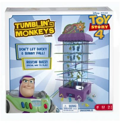 Is it too soon to mention Christmas🎅? If you like to start shopping early, this fun Toy Story Tumbling Monkeys Game is now just £12! Buy here ➡️ https://t.co/RF8masWCmd #toystory4 #giftideas #christmasgifts #birthdaygift #toystoryfan #giftsforkids #familygames #familygamenight https://t.co/FHhX28jb7J