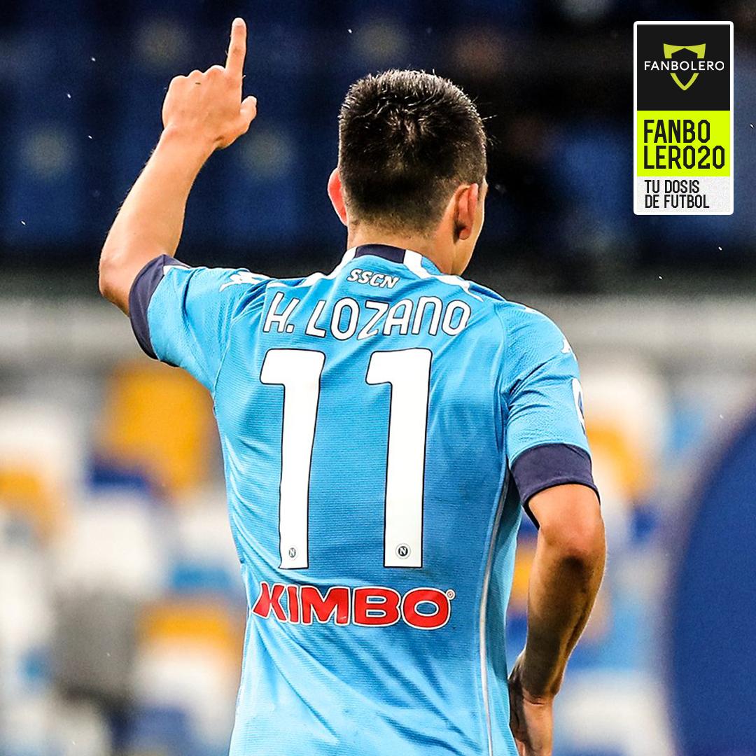 ¡MEXICAN POWER!  Tuvo su segunda titularidad con el Napoli, marcó su primer doblete de la temporada 2020/21 en la Serie A y está ganando confianza en el esquema de Gattuso, ¡Hirving 'Chucky' Lozano! 🤩💙🇲🇽🇮🇹  #HirvingLozano #Chucky #Napoli #SerieA #SoyFanbolero https://t.co/Aw5NAS4h3V