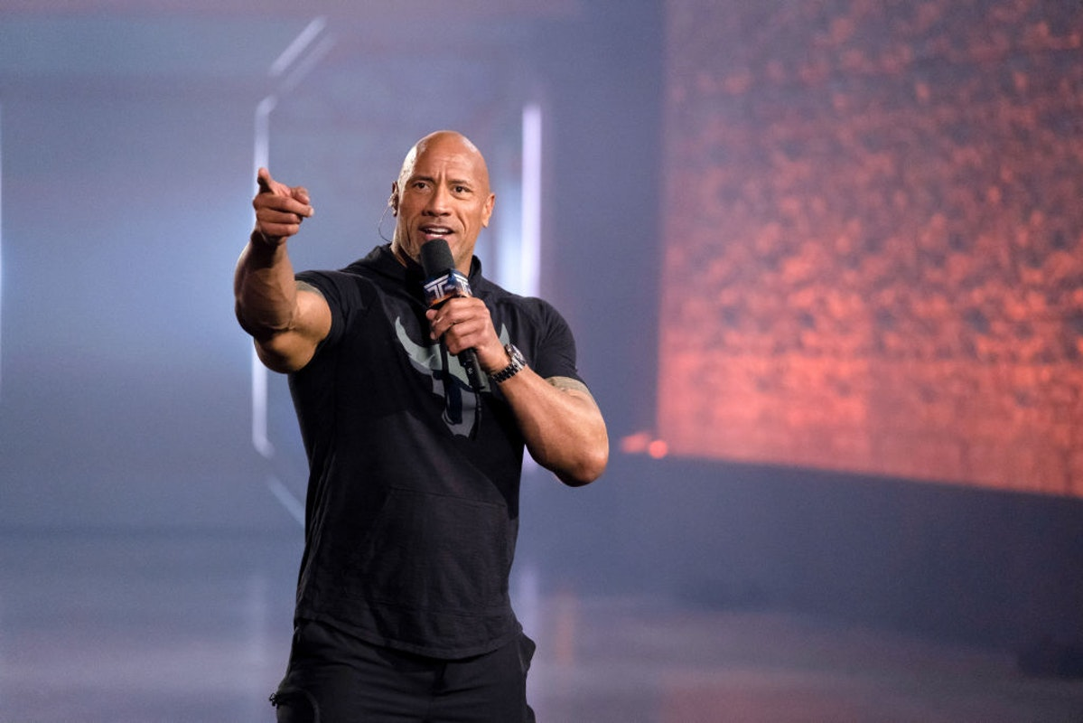 Oh no. Well, what's the point of even voting now that The Rock has endorsed the invalid.