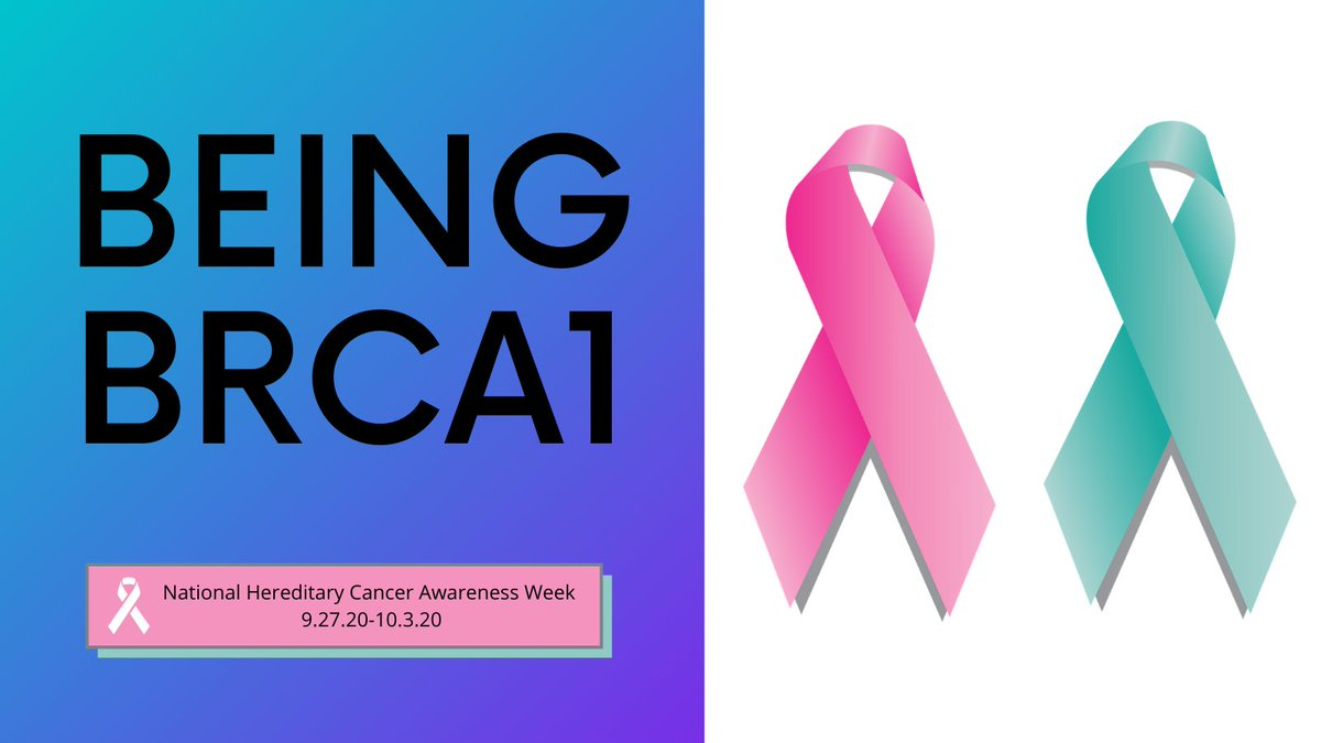 In honor of #HereditaryCancer awareness week, I am sharing a much more personal post.   Being #BRCA1  https://t.co/v5Nkk5fcE9  Please join me in spreading awareness about hereditary cancer 💗   #cancerawareness #BreastCancerAwareness https://t.co/O5tkCVtb8M