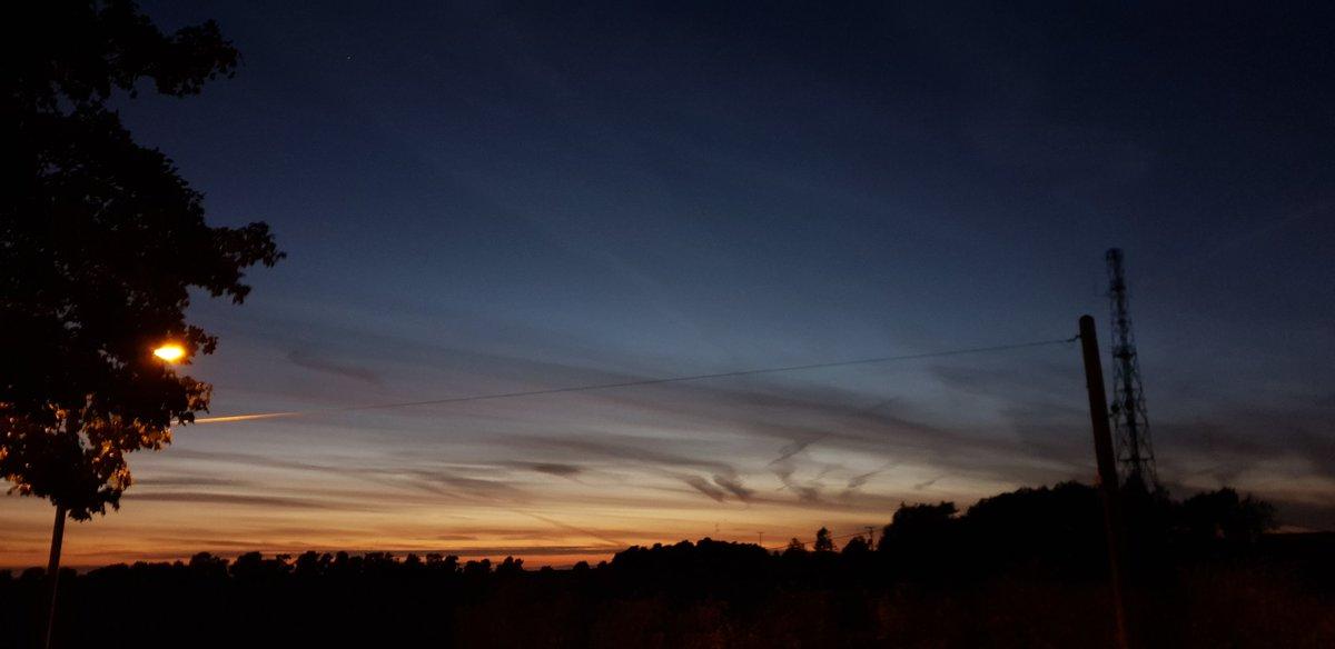 Amazing sky tonight #CannockChase #sunset https://t.co/vfNwTJIcYf