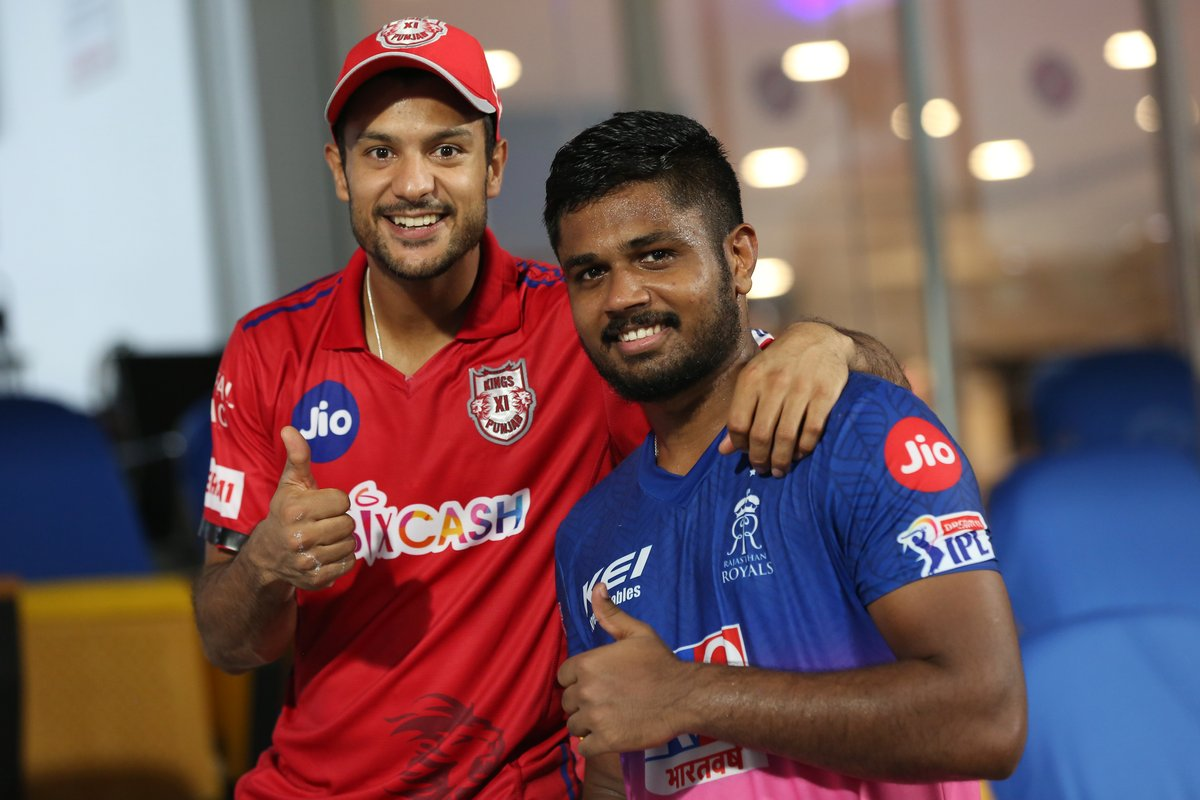 In the end Cricket is the real winner 👍  #RRvKXIP   #IPL2020 https://t.co/I6o0hqxJWf