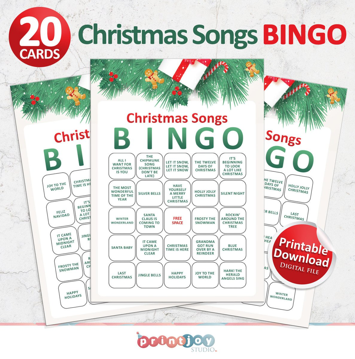This is a printable Christmas Songs BINGO game to play with family and friends so you can start the Christmas cheer! 🎄 You can instantly purchase and download this game set in our Etsy shop! 👉 https://t.co/MVaQHLKFdn   | #Christmas #ChristmasGames #Bingo https://t.co/ofpERzUDJ7