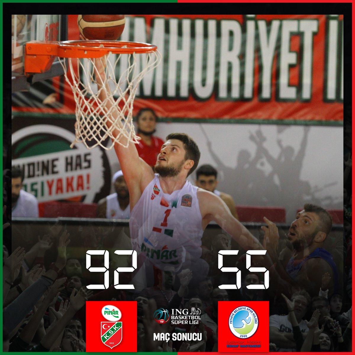 ✅ ING Basketbol Süper Ligi'nde yeni sezona 92-55'lik Lokman Hekim Fethiye Belediyespor galibiyetiyle başlıyoruz! 💪 https://t.co/3rUxQqhQhd