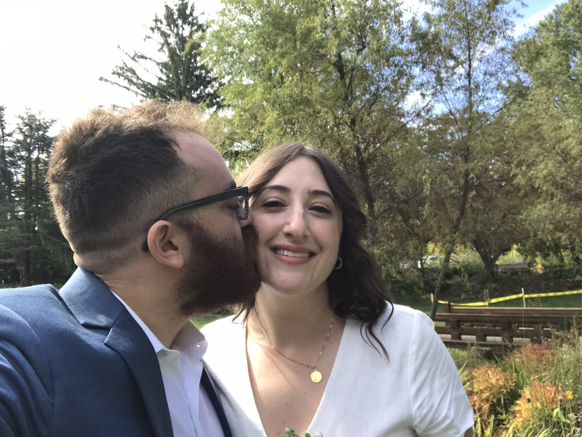 Yet another example of a leftist man fooling a normie woman into marrying down https://t.co/u2GHT5gmh9