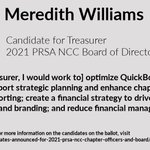 Image for the Tweet beginning: Meet Meredith Williams, candidate for