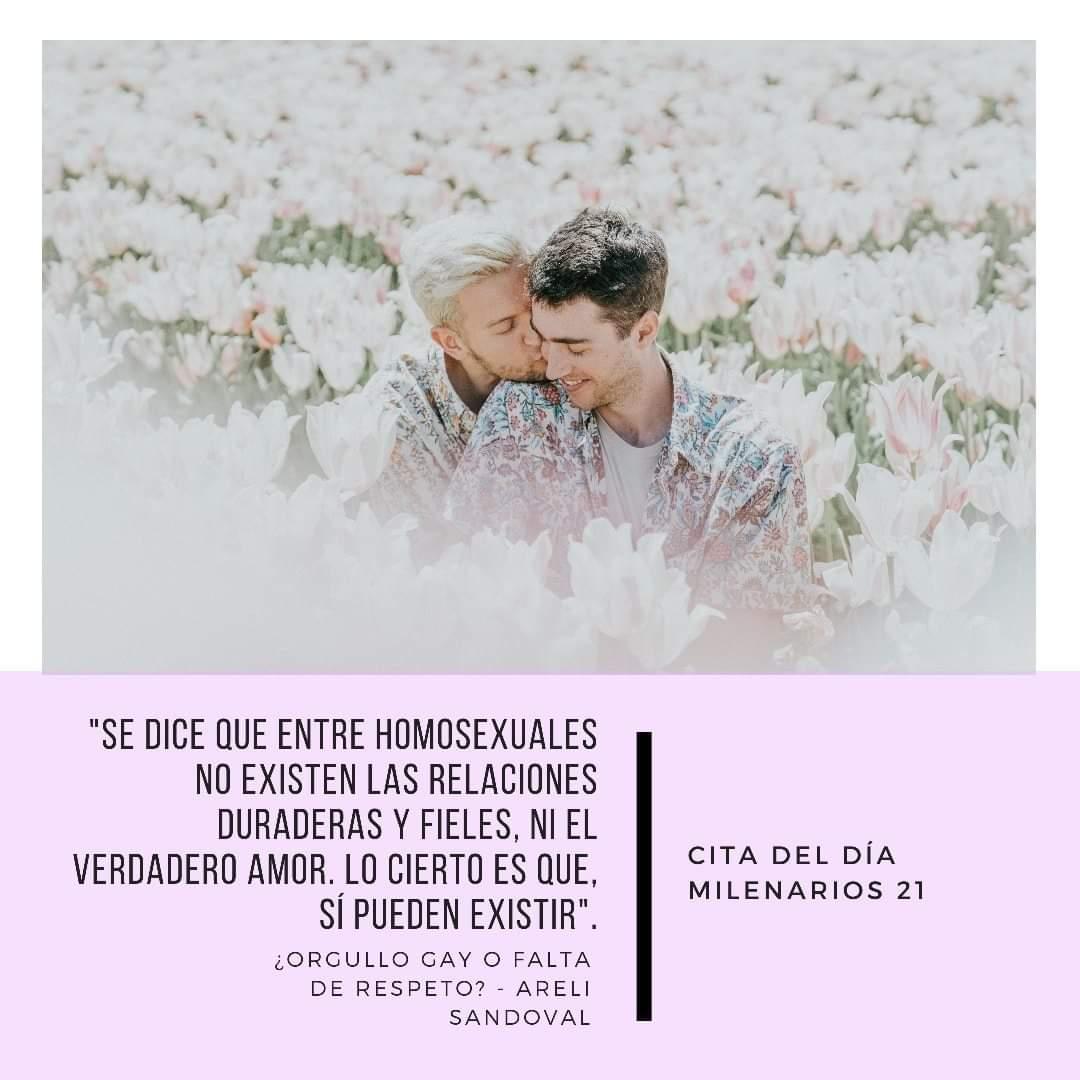 En torno a la #ComunidadGay #LGBTQ+ #Homosexualidad hay muchos #mitos y #prejuicios. Areli Sandoval los desvela en su artículo para #milenarios21, una crítica a cómo se ha manejado la sociedad actual. 👇👇👇 https://t.co/sYuAiVGRrw ☝️☝️☝️ Síguenos para más artículos de #sociedad https://t.co/2pu14kHQ81