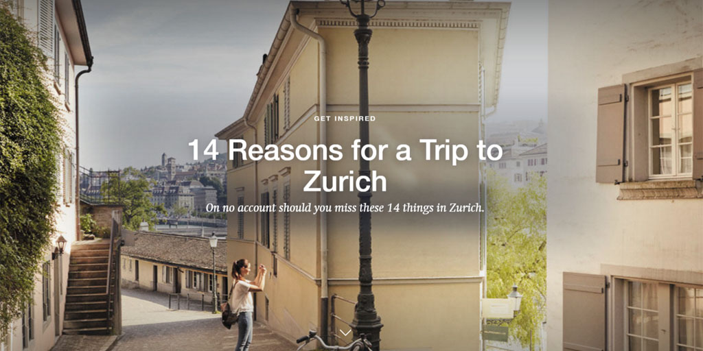 Are you still looking for a reason to come to #Zurich #Switzerland?🇨🇭 We give you 14! 👉https://t.co/Y2YAfTpJks https://t.co/rPymBTd8K7