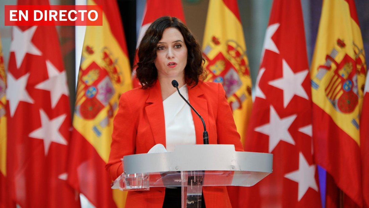 """DIRECTO   Isabel Díaz Ayuso insiste en que cerrar Madrid no es la solución para frenar el coronavirus: """"Madrid no se puede cerrar, sin más, eso es lo fácil. Nosotros sabemos lo que hay que hacer"""" https://t.co/Sh3D3a6iVW https://t.co/T5TLdp7osf"""