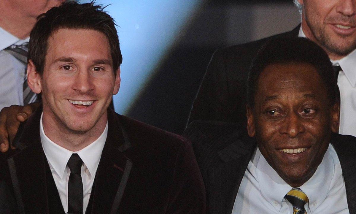 Leo is now 9 goals away from breaking Pele's one club goal record..  Pele - 643 Messi - 635 https://t.co/J2K5zMnoKZ