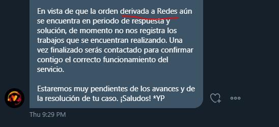 @subtel_chile, @SERNAC: ¿es aceptable que las empresas como @VTRChile  entreguen información FALSA a los clientes en la atención de un proceso de reclamo? Me indican por Twitter y teléfono que el proceso fue derivado al área de REDES, sin embargo hoy me indican lo contrario... https://t.co/9S4I45l8C7