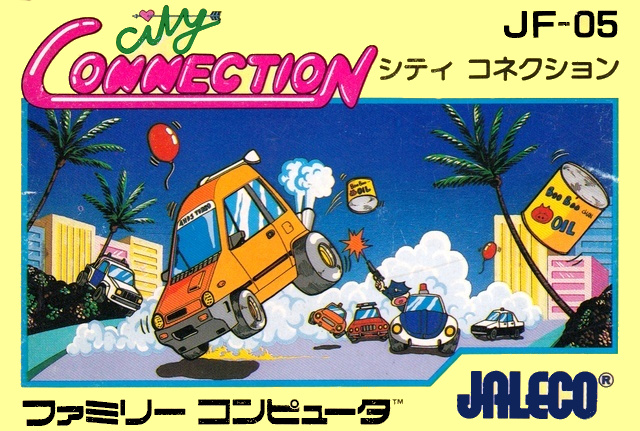 #CityConnection for #Nintendo #Famicom was released in Japan 35 years ago (September 27, 1985)  #TodayInGamingHistory #OnThisDay @redseraph https://t.co/T494TsHku5