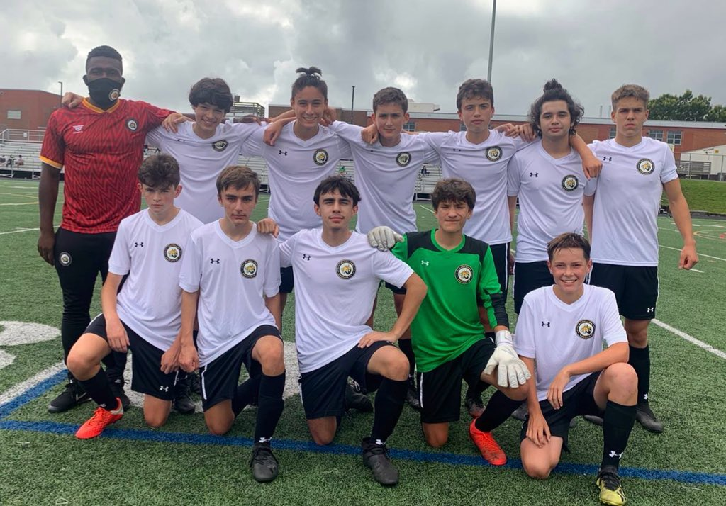 A first win for the MD Bobcats Youth U16 Gold team!  Coached by First Team player Alex Kao, they started their @EDPsoccer season with a 5-3 win!  Congrats to the boys - many more to come!  #ForAll https://t.co/upyHiTBSou