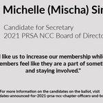 Image for the Tweet beginning: Meet Michelle (Mischa) Sindyukov, candidate