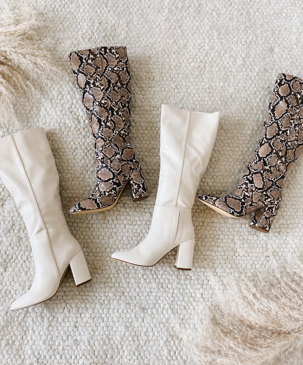 The boots of the season are back 🙌 Hurry and shop the Katari pointed-toe knee high boots before they sell out again! 💫 #lovelulus Shop the boots: https://t.co/Hr6iW0FyYB https://t.co/WFyiHkFPi8