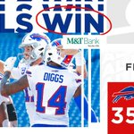 Image for the Tweet beginning: You can exhale now...  BILLS WIN!!!!