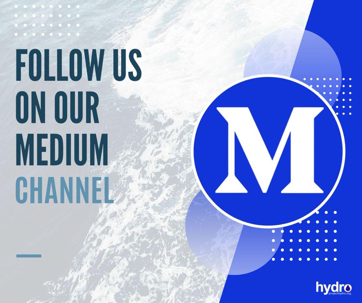 Follow Hydro on Medium🔥🔥🔥  https://t.co/WpC8YIaM3Z  #projecthydro #blockchain #DeFi #AI https://t.co/UOBcUD8GI9