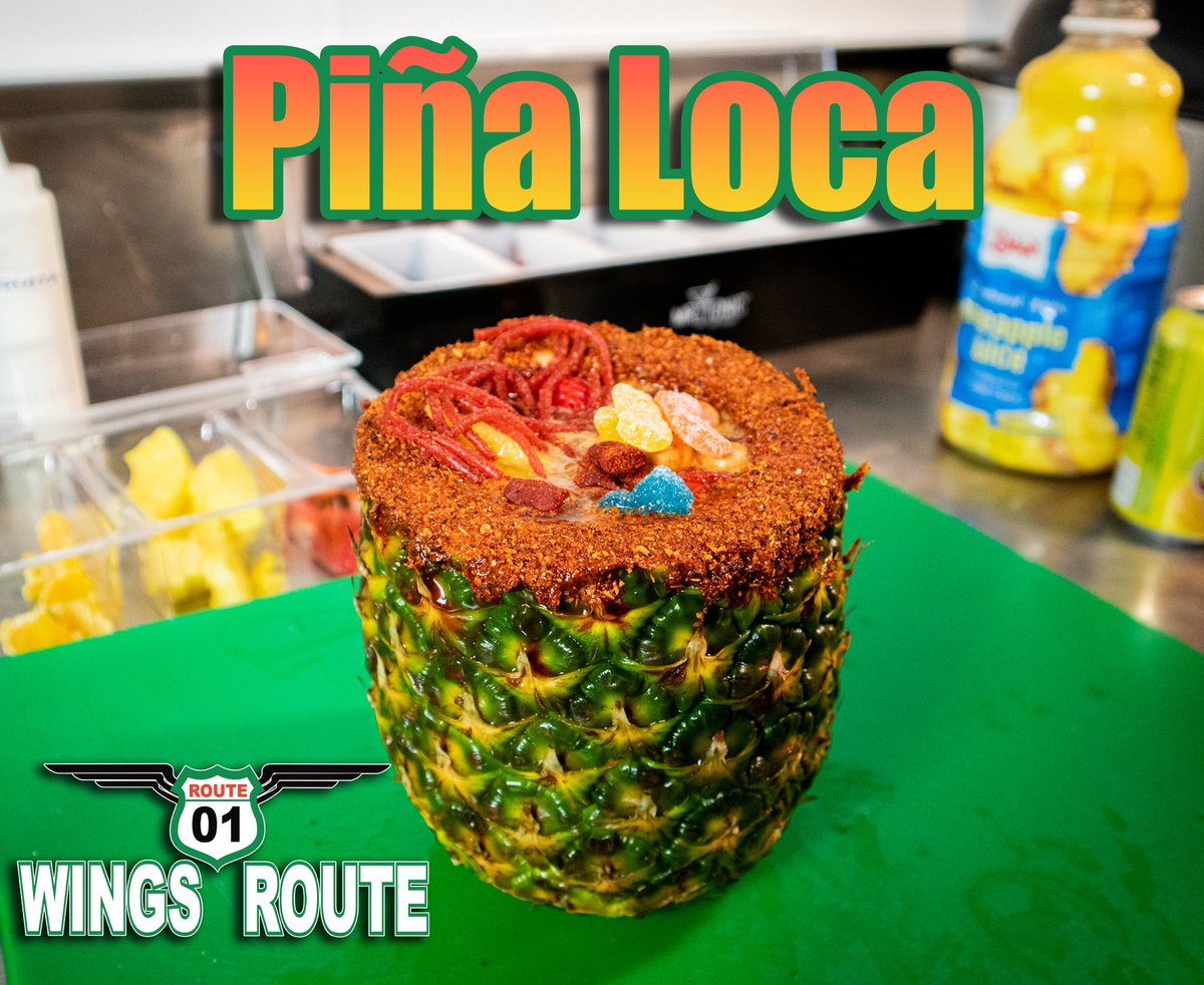 We are sure that our Piña Loca will definitely drive your taste buds wild with excitement. Take the wings route today!   We are located at 7815 McPherson Rd Ste 107A Laredo Tx Or call us at  (956) 704-5558 #snacks  #wings  #refreshing  #localtreats  #supportlocal https://t.co/DHlCdmbt1V