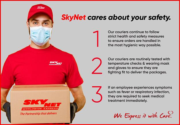 SkyNet CARES about your SAFETY.  #safety #safetyfirst #protect #StaySafe @SkyNet_UAE https://t.co/JLhThRAmHj