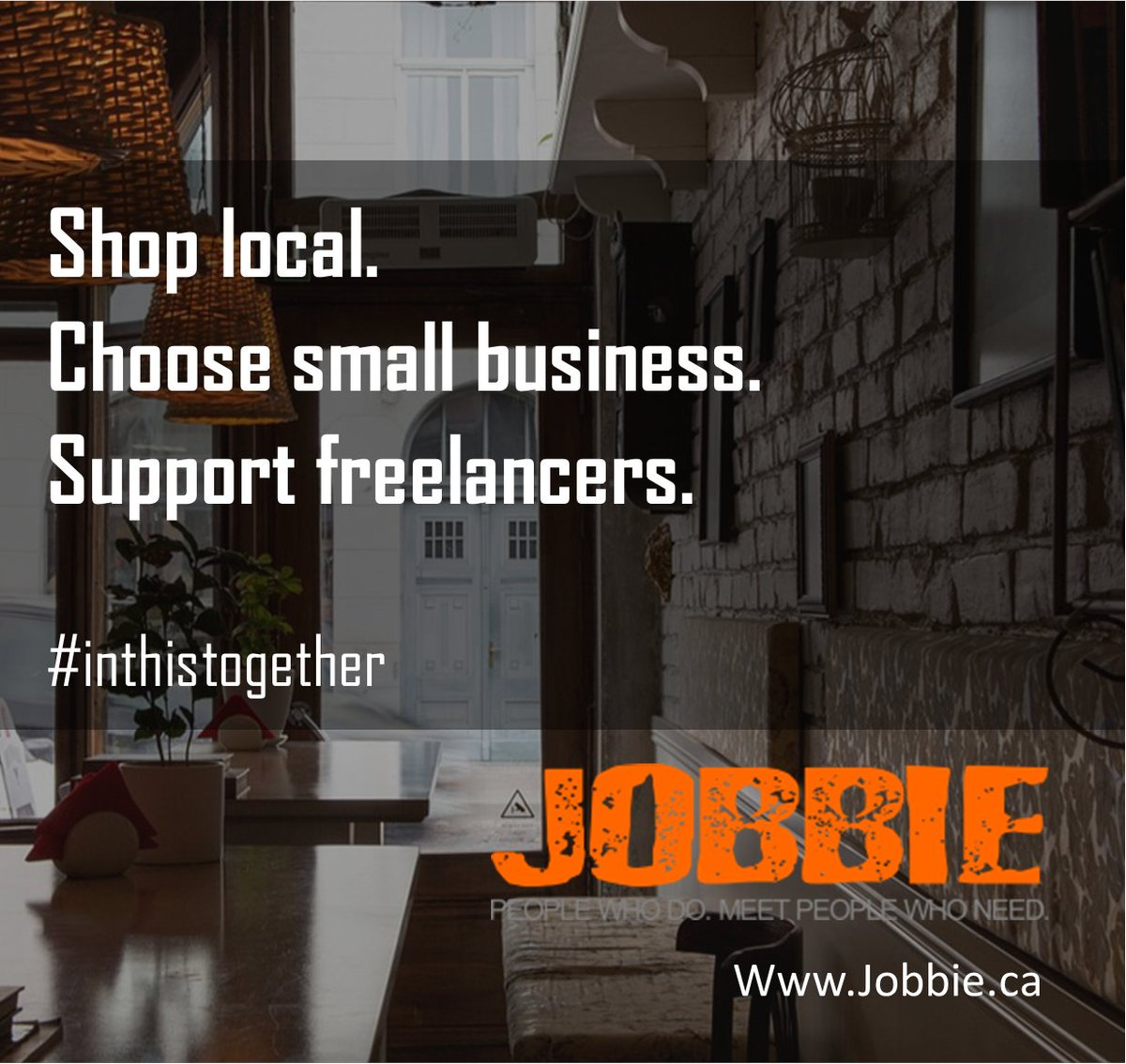 How do we get through this? Together. Buy local. Support small businesses. Hire local freelancers. Support local startups. #inthistogether #canadianbusiness #madeincanada #shoplocal #Canada #Canadian #canadastartup #albertastartup #YYC Share if you agree! https://t.co/ILKWDh5C9C https://t.co/yoRH7rOOnL