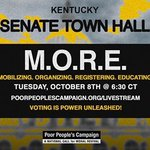 Image for the Tweet beginning: Join the @KentuckyPPC's Senate Town