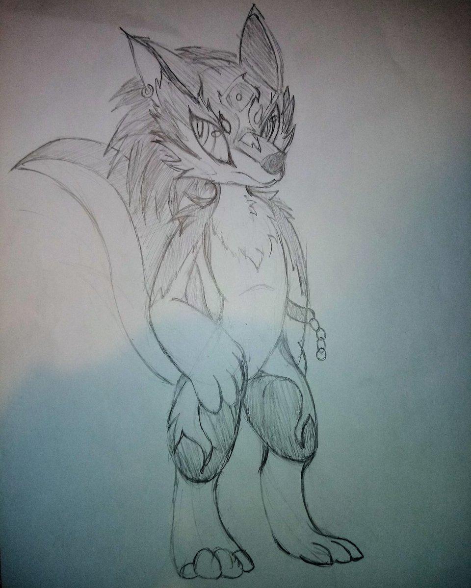 Wolf Link anthro quite challenging but in the end it's fine.  #furry #furryfandom #drawing #tloz #Link #wolflink #fanart #kemono #kemonoartist https://t.co/kGevulqJbZ