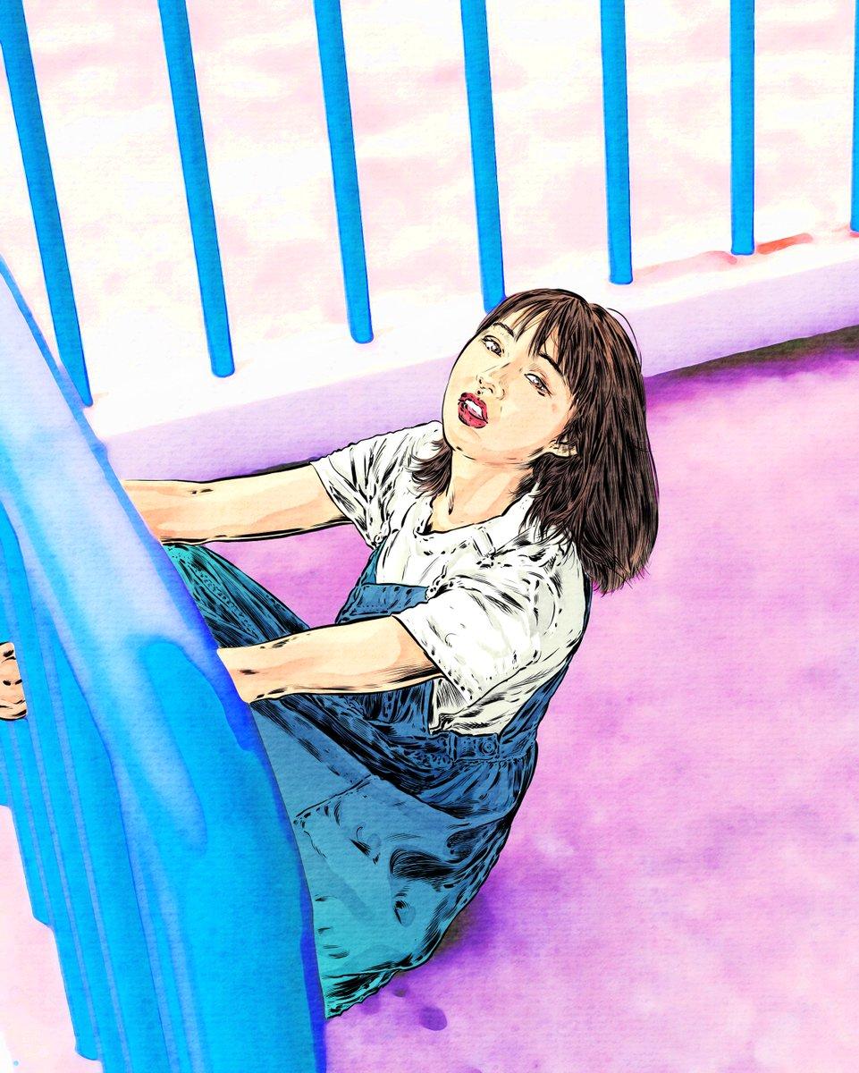 Fun on a weekend  #artixlinux #i3wm #inking #illustration #digitalart #digitaldrawing #brush #watercolor #lineart  #drawing #mypaint #Linux #painting #art #comic #comicbooks #sketches #krita #anime #AnimeArt https://t.co/eMie0Nkk2u