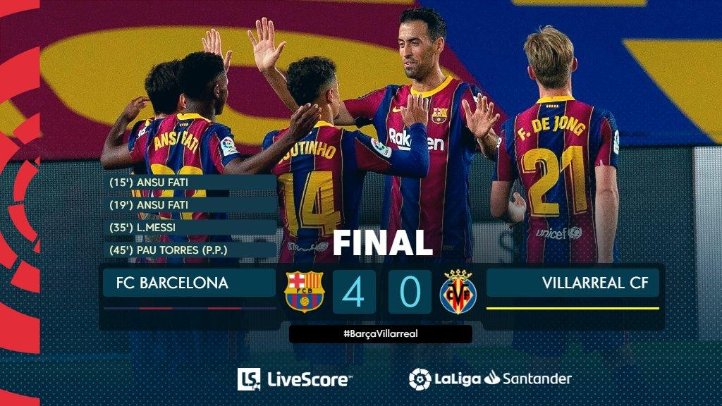 Barça-Villarreal