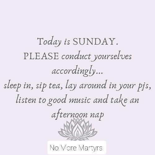 Happy Sunday! No More Martyrs Family 🌟  This is a Public Service Announcement...  Relax Restore Rejuvenate   Signed  #NoMoreMartyrs Team  #selfcare #musictherapy #mentalhealth #sundayvibes #Selfcaresunday #mebralhealthday https://t.co/aywaNwHUKH